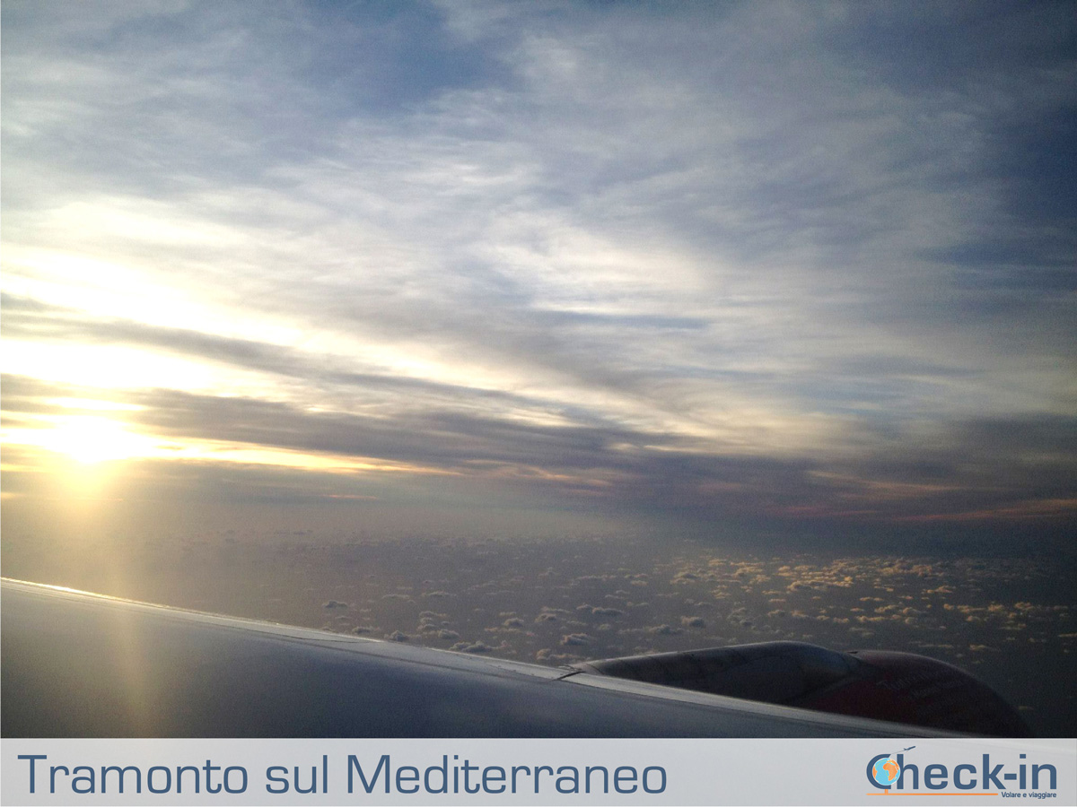 In volo con Air Malta verso Milano Linate