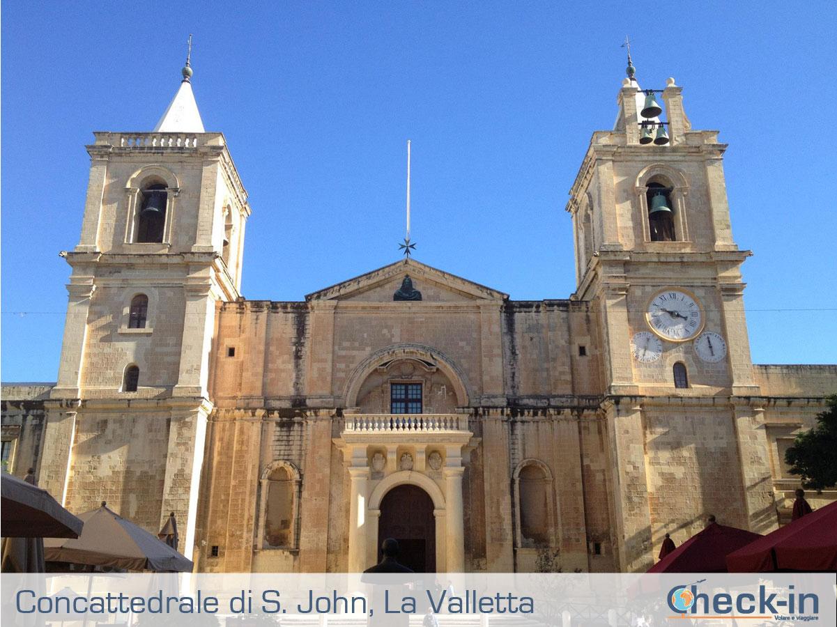 La Concattedrale di S. John a La Valletta, isola di Malta