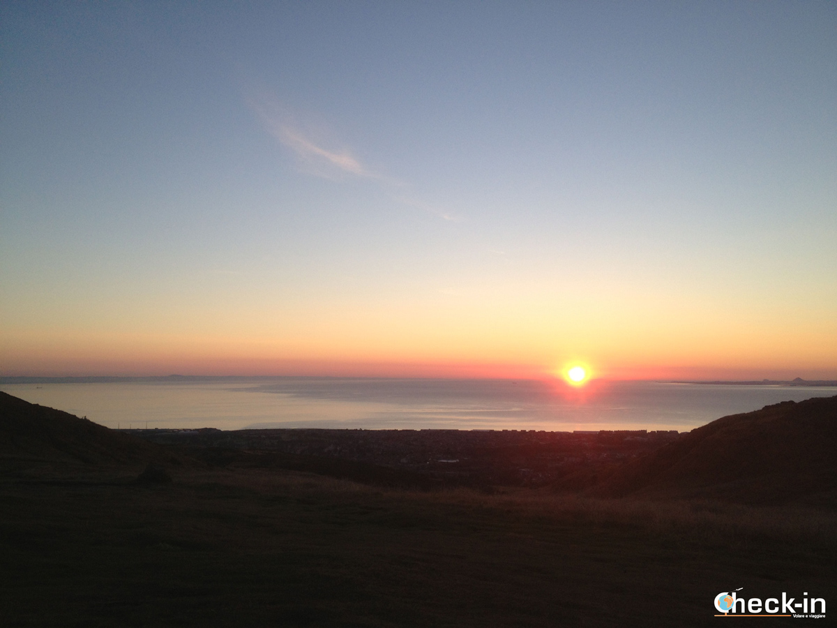 Cosa vedere ad Edimburgo: l'alba sull'Arthur's Seat