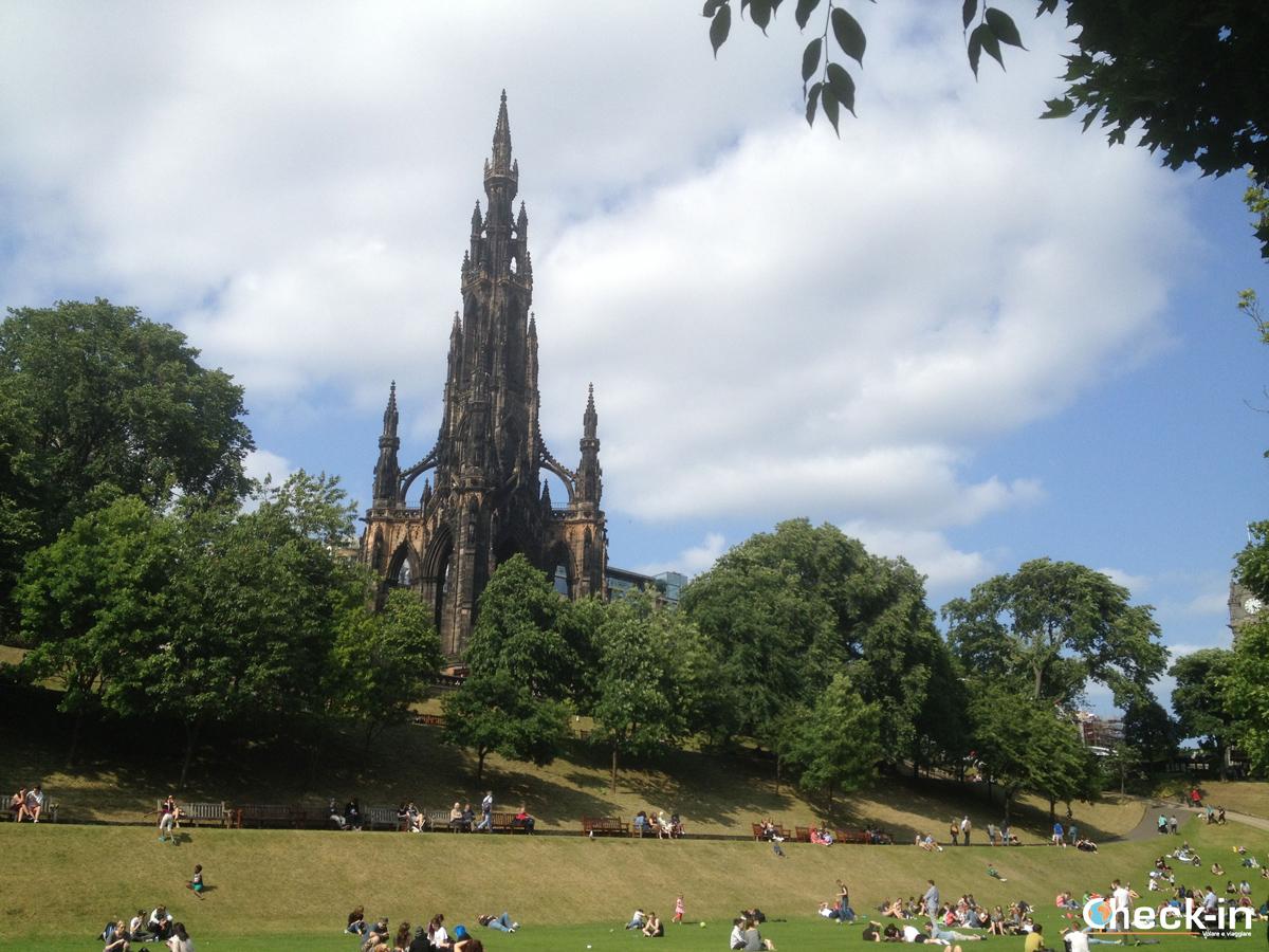 Cosa vedere a Edimburgo: i Princes Street Gardens