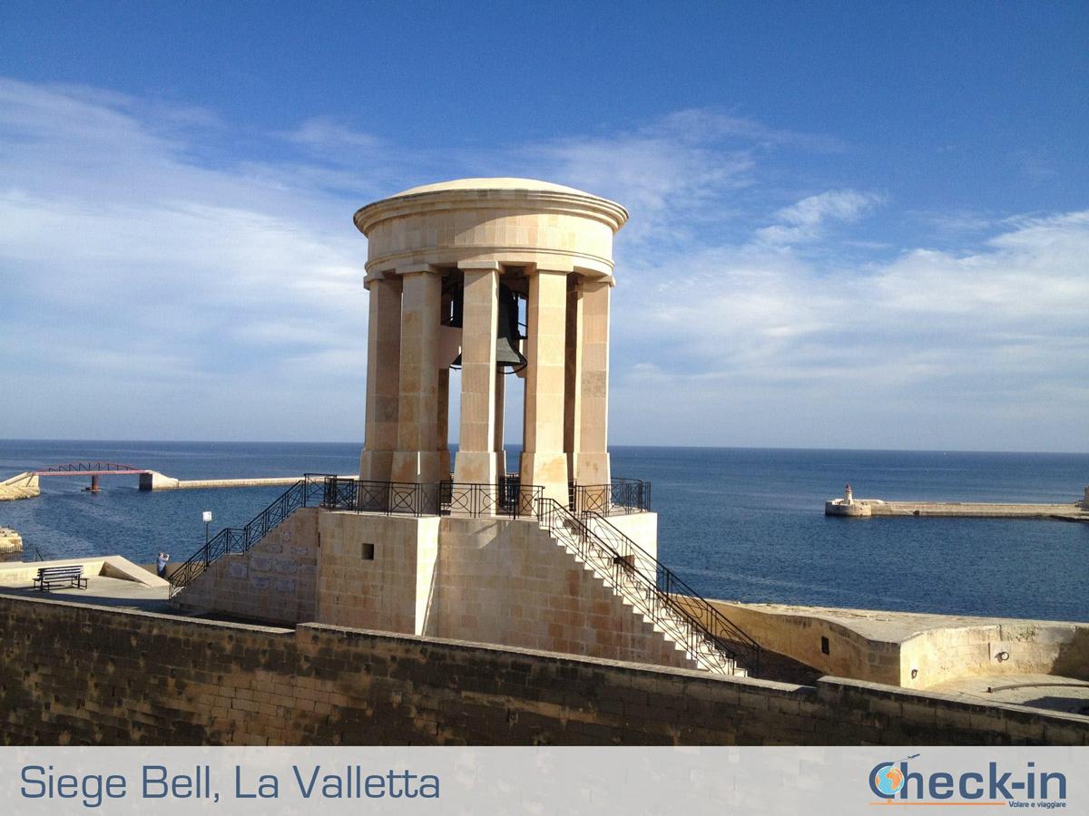 Importante per la storia di Malta e Gozo, la Siege Bell ricorda i caduti maltesi durante il Grande Assedio del 1565