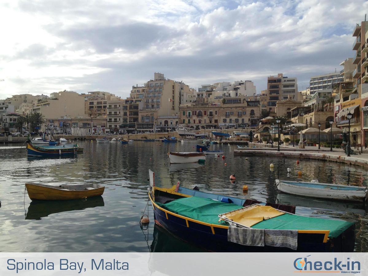In giro tra Malta e Gozo con tappa imperdibile a Spinola Bay