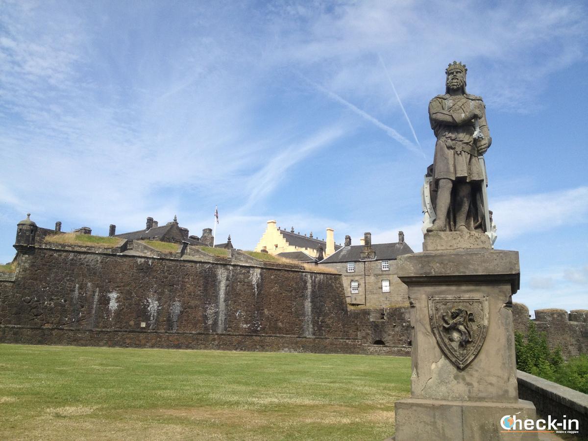 Nel cuore delle Lowlands, il Castello di Stirling