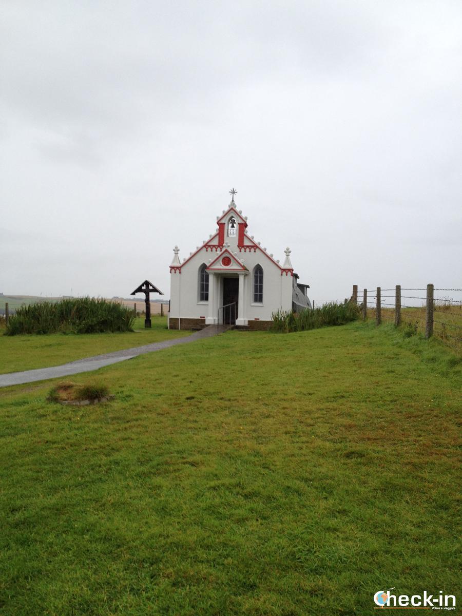 Scozia settentrionale: la Cappella degli Italiani nelle isole Orcadi