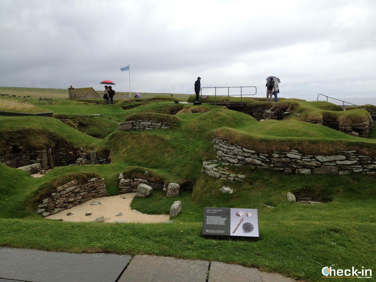 Scozia settentrionale: visita al sito storico di Skara Brae alle isole Orcadi