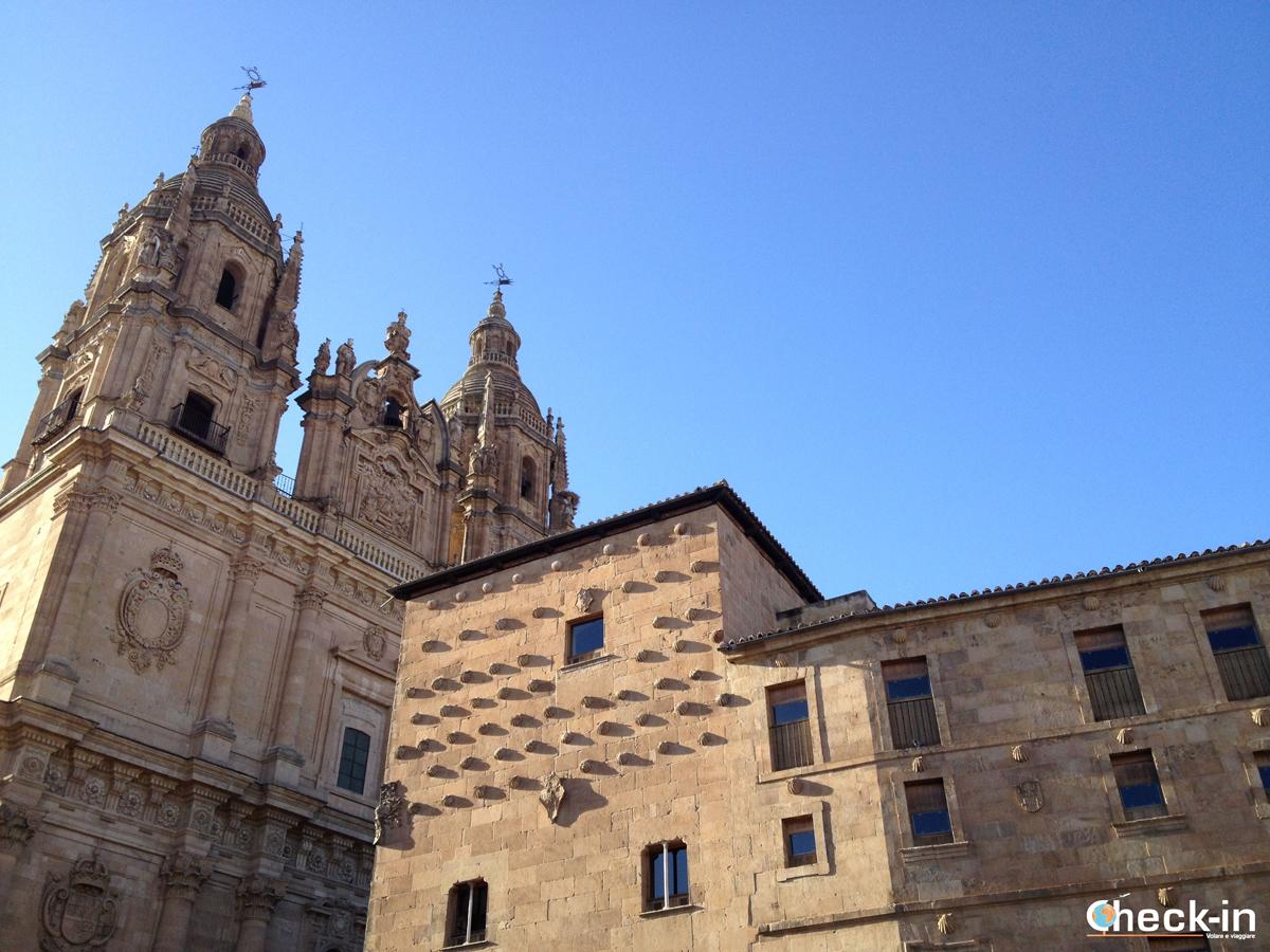 Weekend a Salamanca: l'Università Pontificia e la casa de las conchas