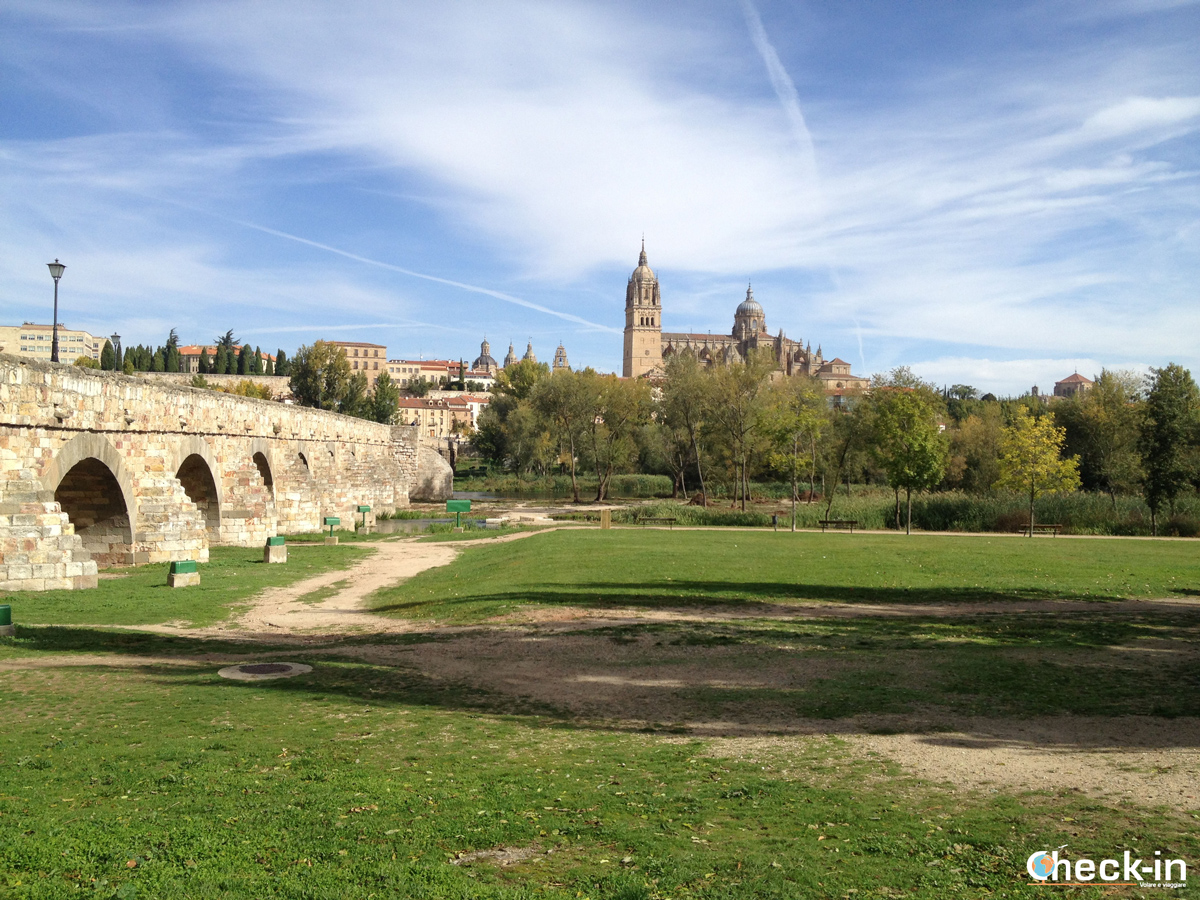 Weekend a Salamanca: il ponte Romano