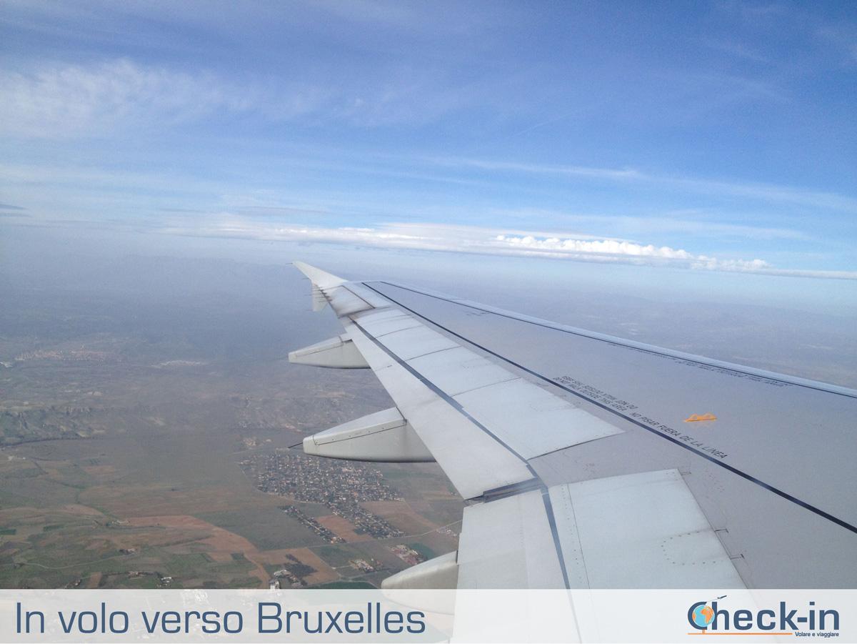 In volo con Iberia verso Bruxelles