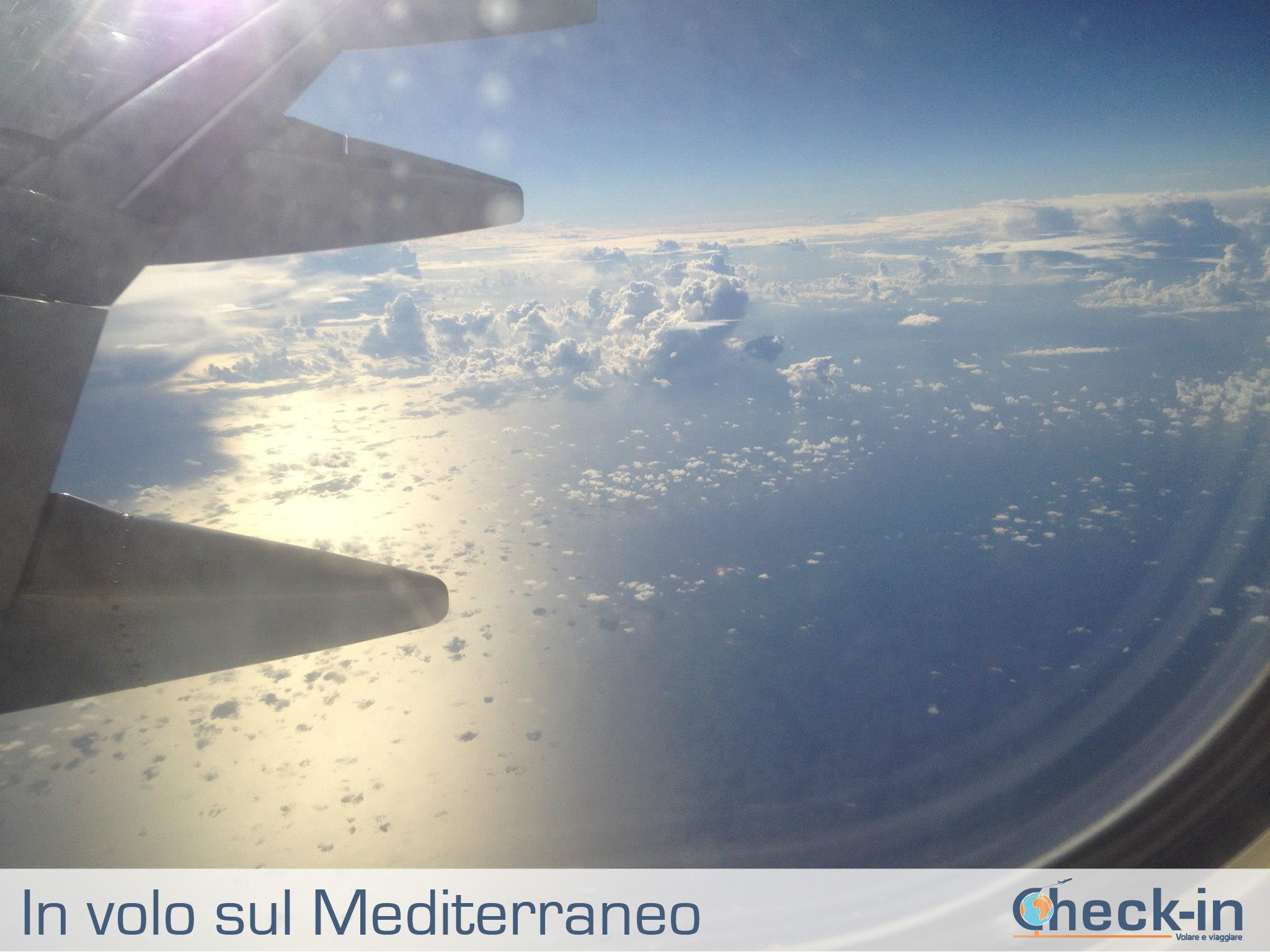 In volo sul Mediterraneo con Ryanair
