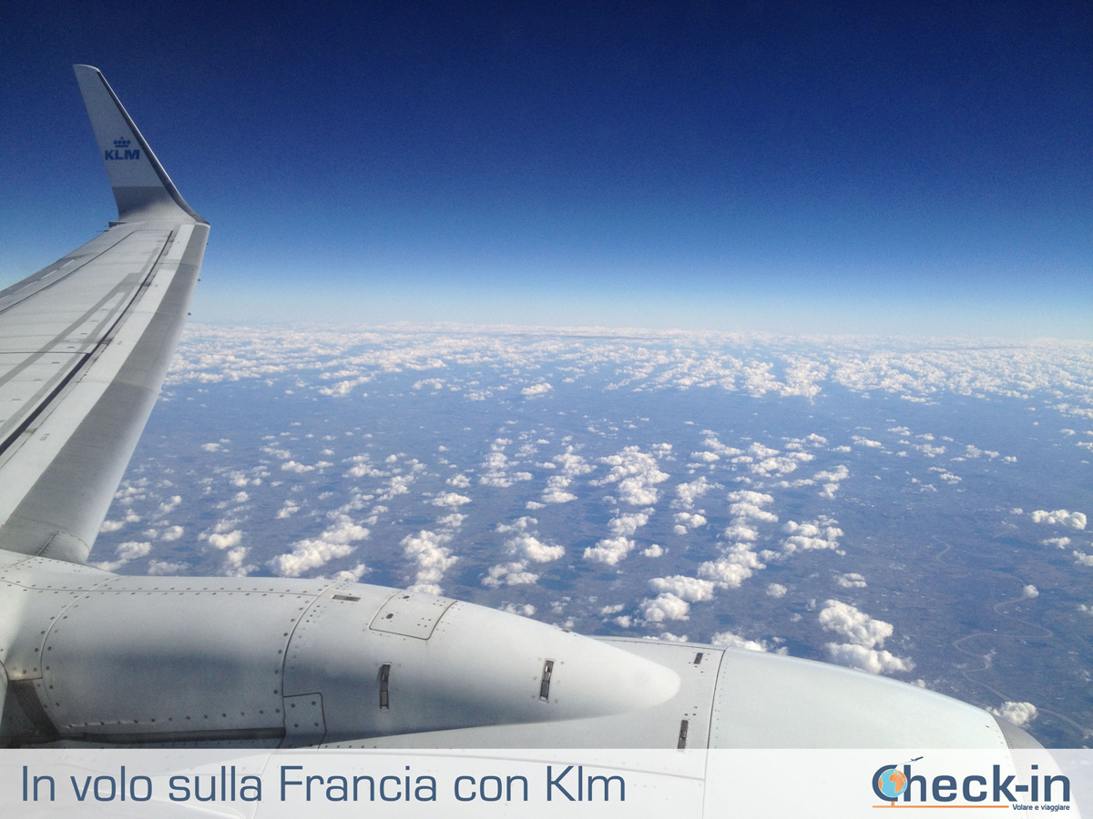 In volo con Klm, membro dello Skyteam