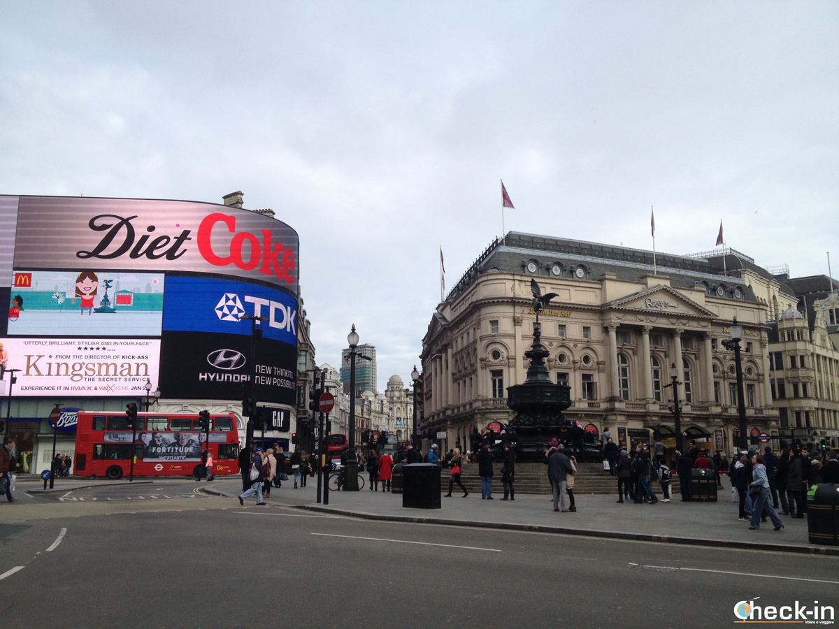 Cosa vedere a Londra: Piccadilly Circus