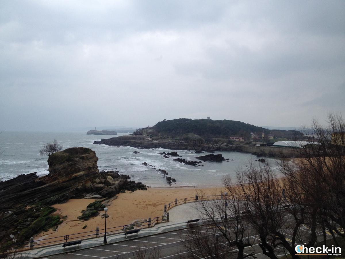 La spiaggia del cammello di Santander