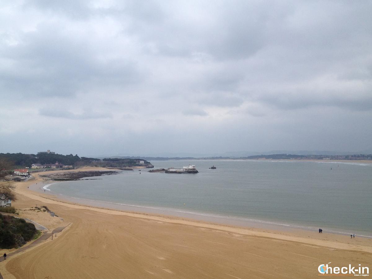 Playa de la Magdalena di Santander