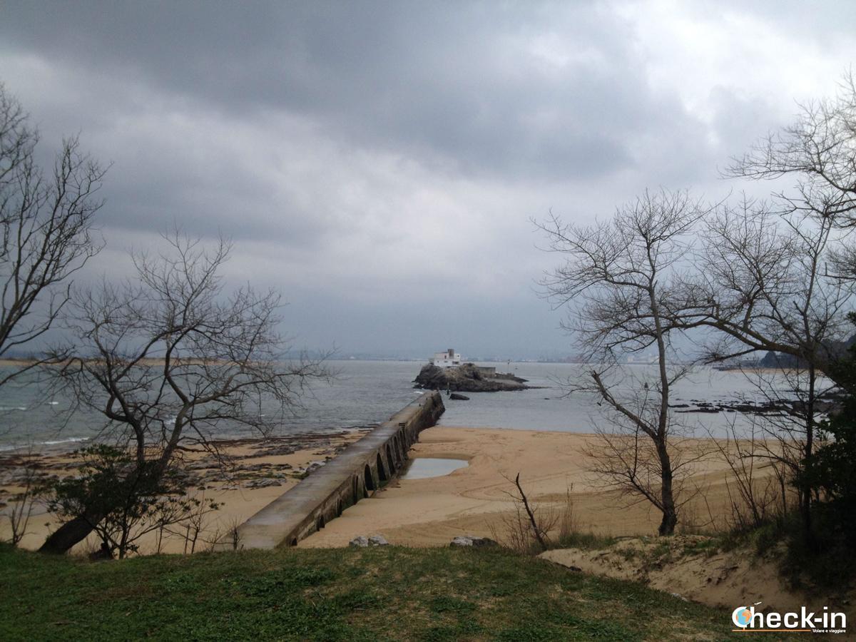 Playa de los bikinis di Santander