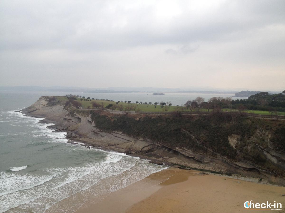 Playa de Mataleñas a Santander