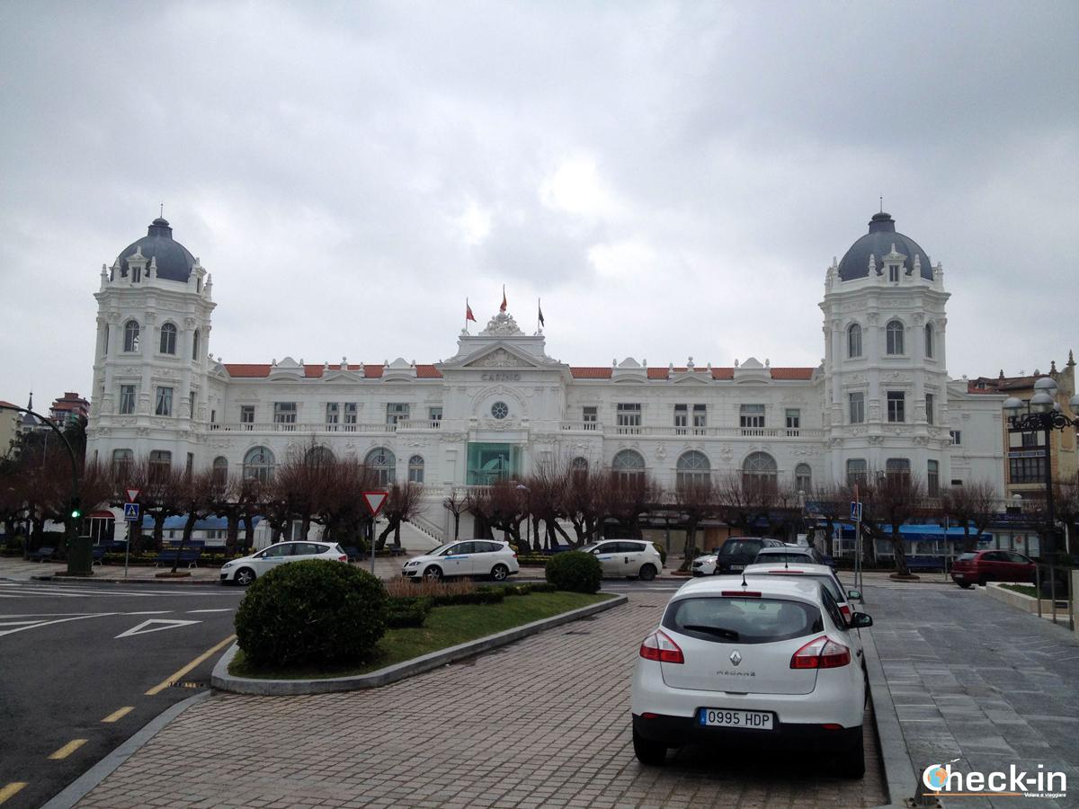 Piazza Italia e Casinò di Santander