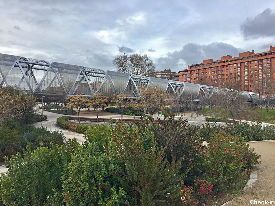 Cose insolite da fare a Madrid: esplorare il parco urbano Madrid Río