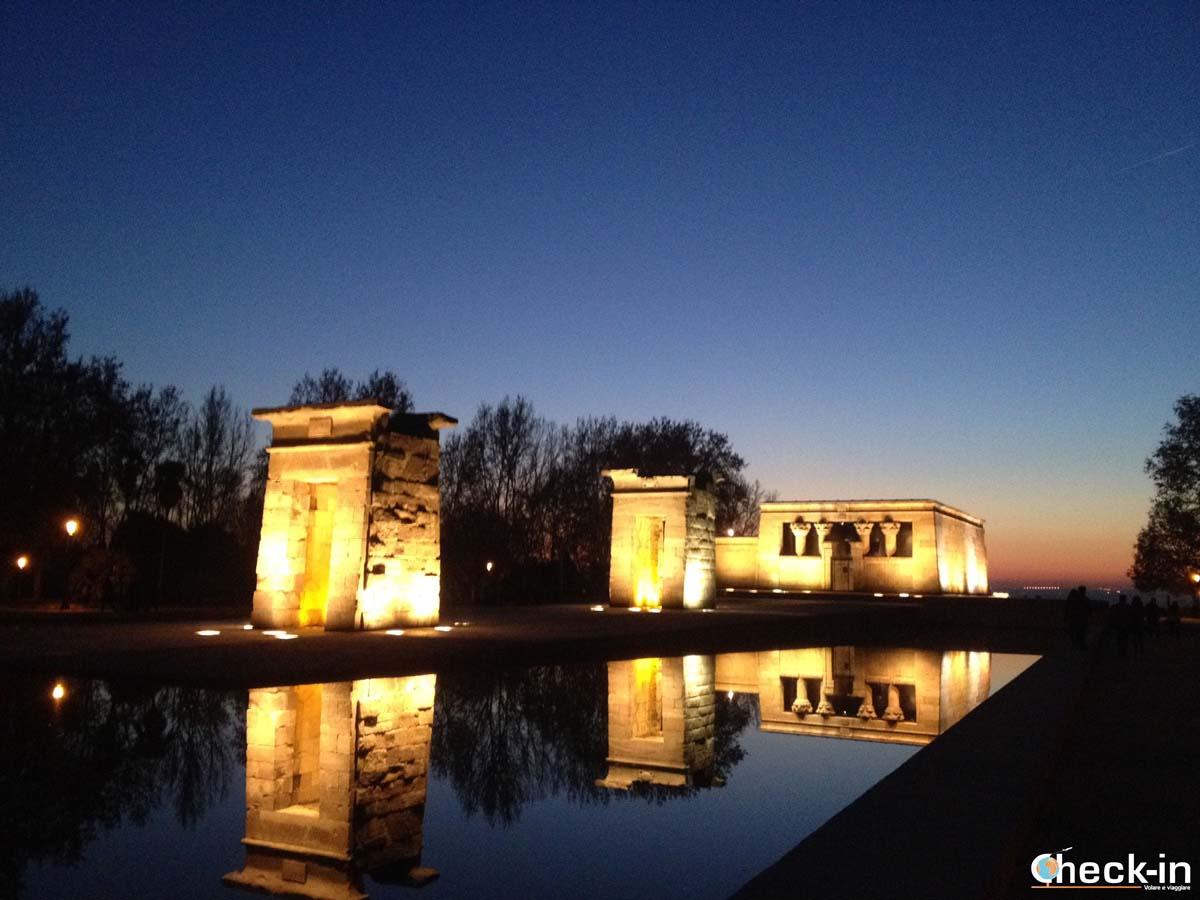 5 cose da fare a Madrid: guardare il tramonto dal Templo de Debod