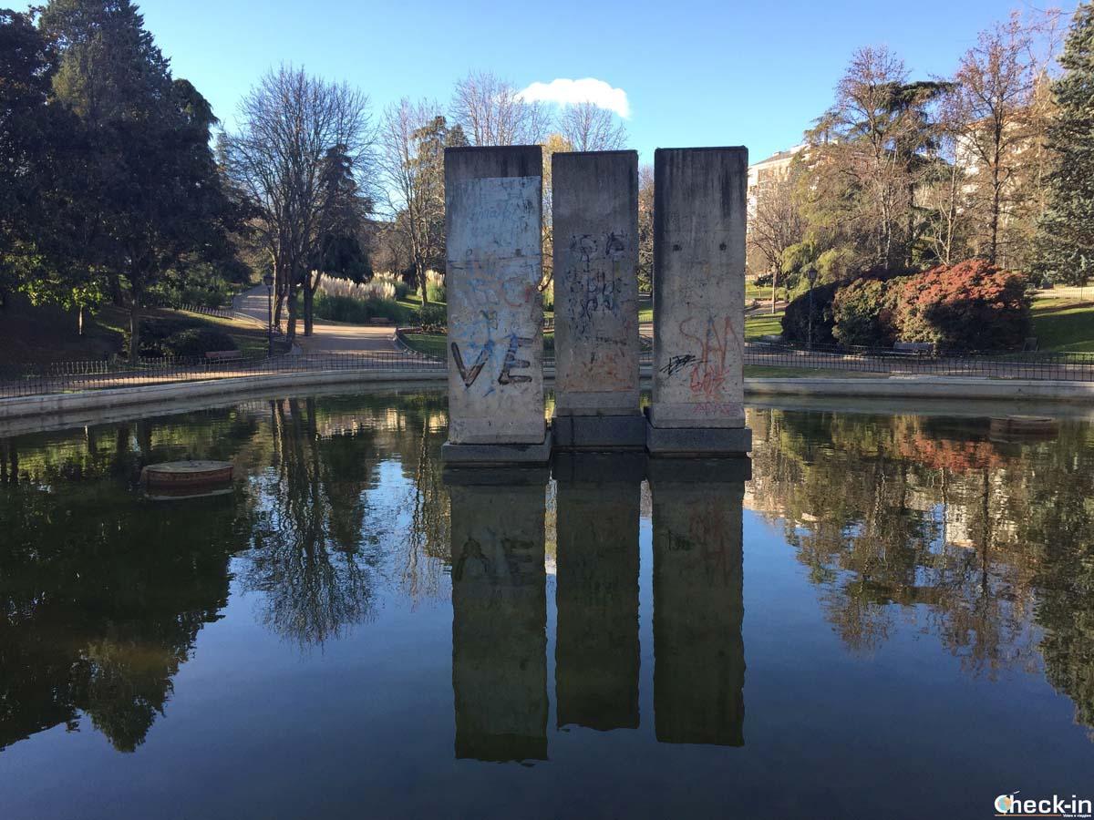5 cose da vedere a Madrid: i pezzi del muro di Berlino