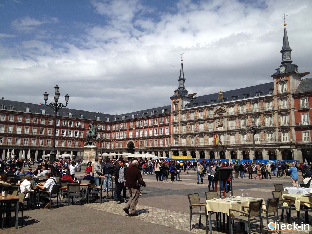 5 cose da fare a Madrid: Plaza Mayor