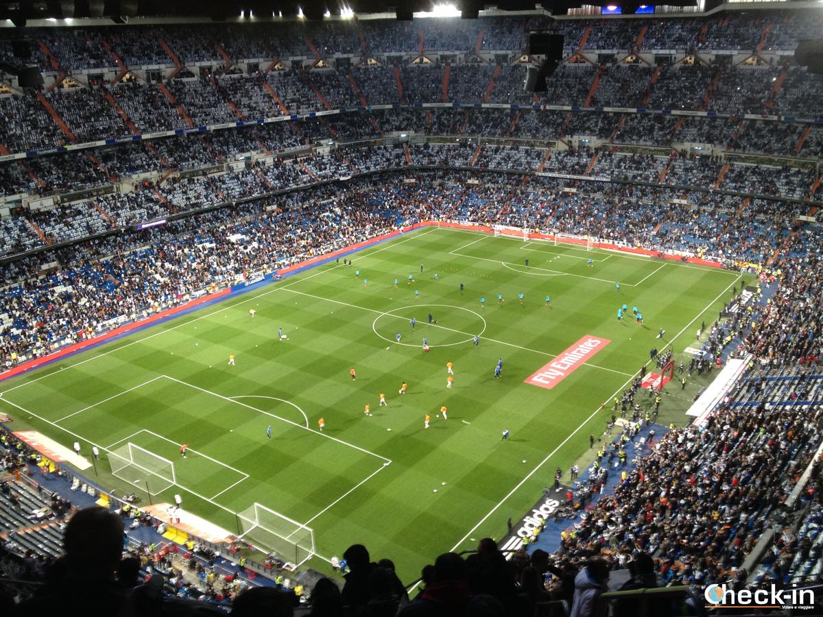 Riscaldamento pre-clásico al Bernabéu