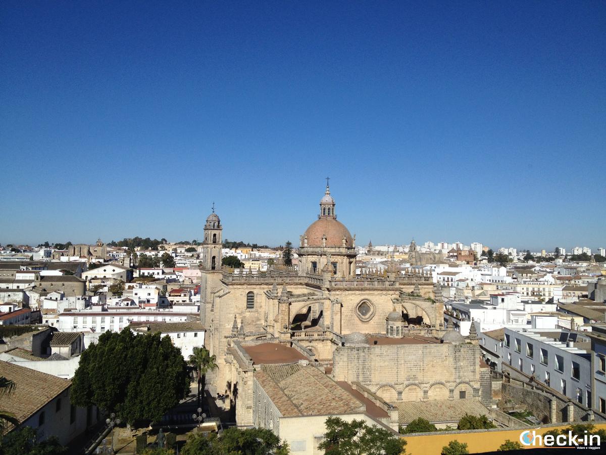 Visita dell'Alcazar: vista da Palacio Villavicencio