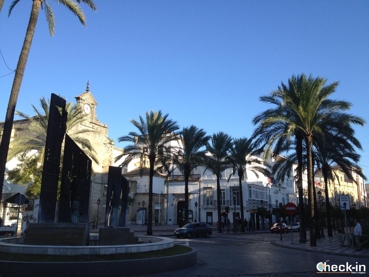 Calle Larga, la via principale di Jerez de la Frontera
