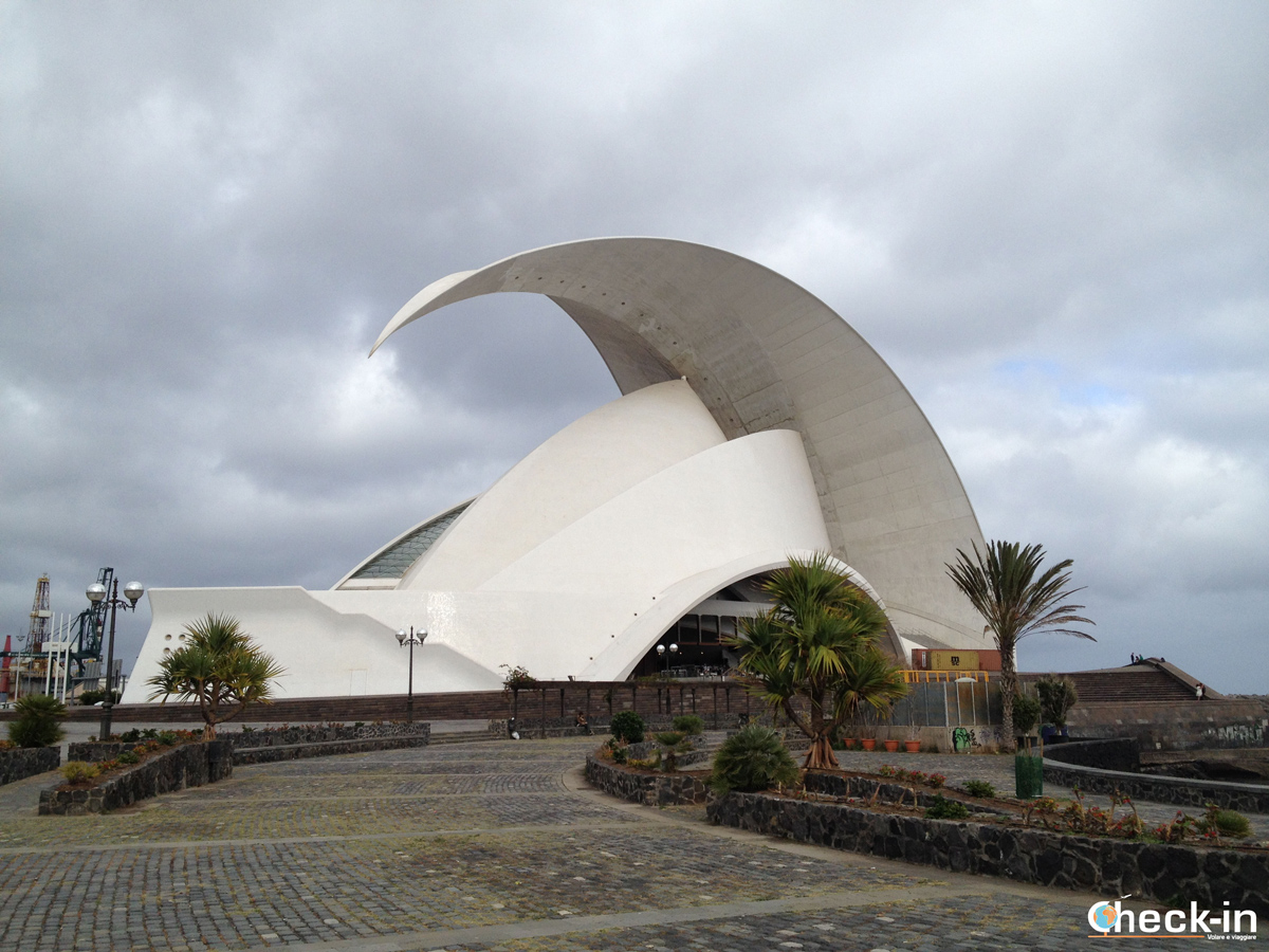 L'Auditorium di Tenerife progettato da Calatrava
