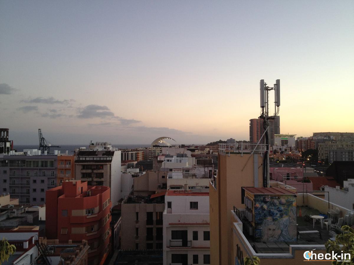 Scorcio di calle del Castillo di Santa Cruz de Tenerife
