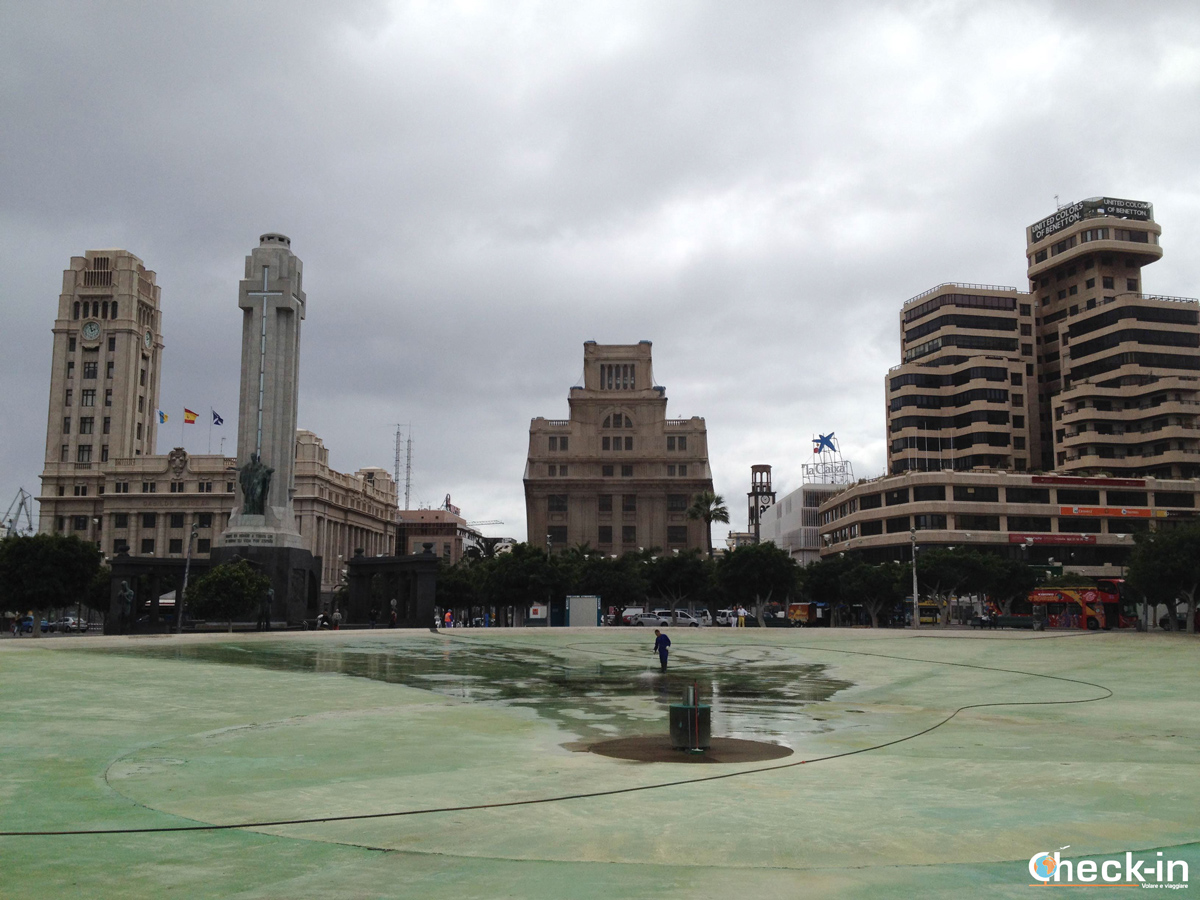 Plaza de España di Santa Cruz de Tenerife