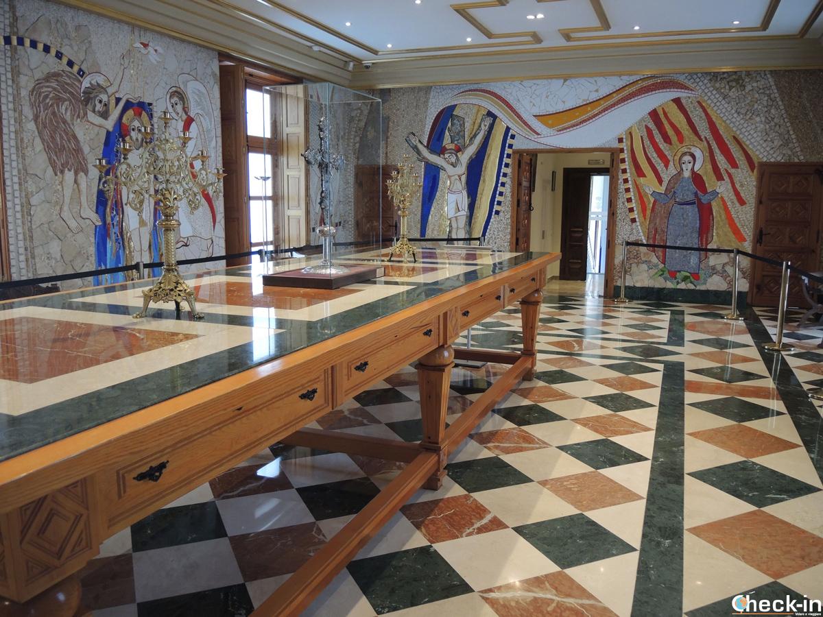 La Sacrestia Maggiore del Museo della Cattedrale della Almudena di Madrid