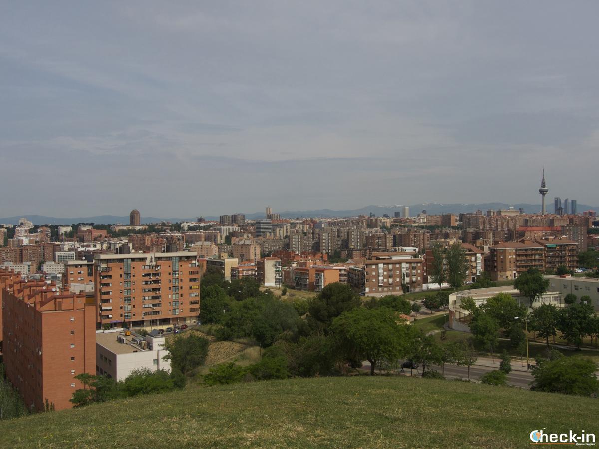 Panorama di Madrid dal Cerro del Tío Pío