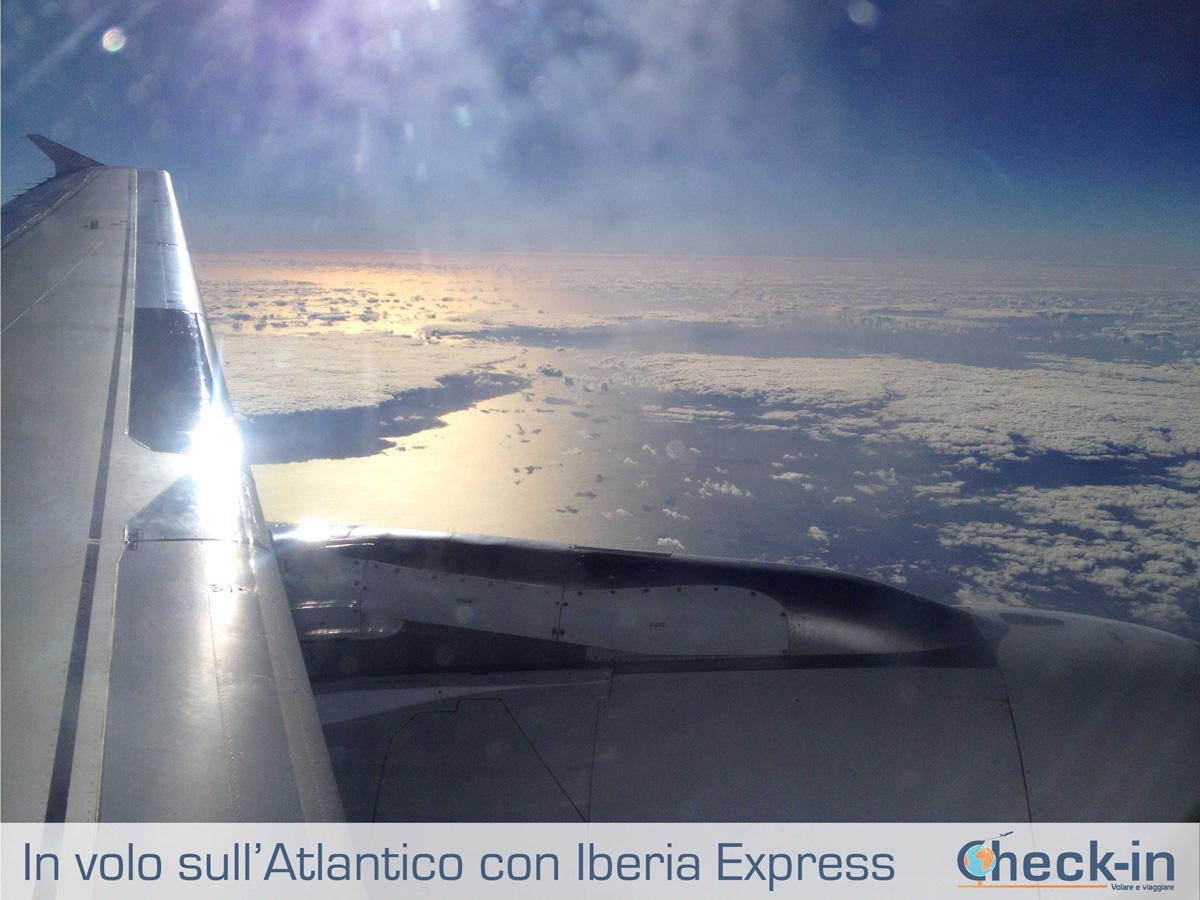 Sorvolando l'oceano con Iberia Express
