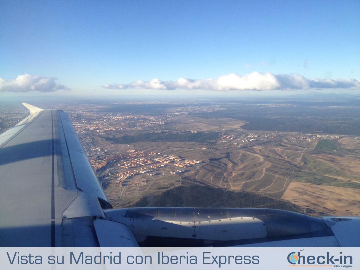 In volo su Madrid con Iberia Express