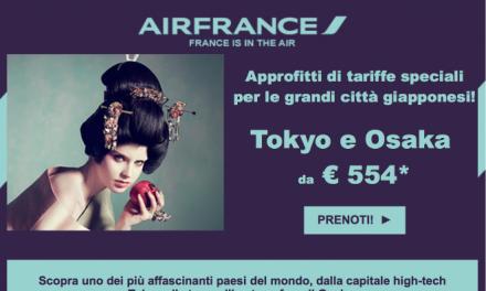 Offerte Air France Giappone [scaduta]
