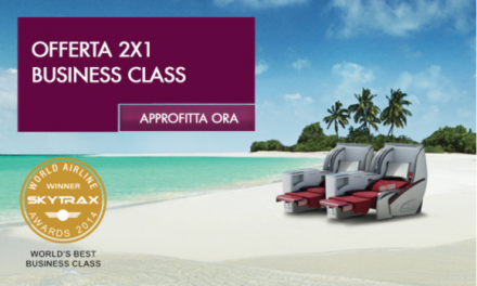 Offerte Qatar Airways business class