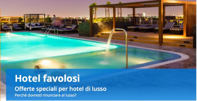 Offerte Venere hotel di lusso