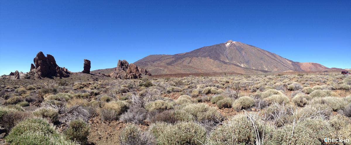 Roques de García con il Teide sullo sfondo