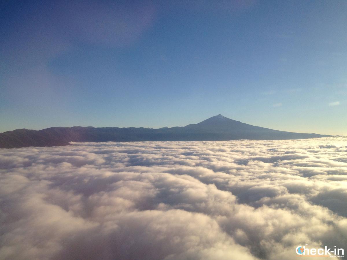 Il Teide visto in volo