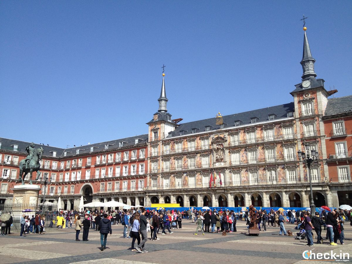 Cosa vedere a Madrid: plaza Mayor