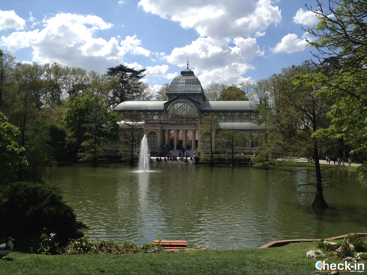 Cosa vedere a Madrid: il Palacio de Cristal