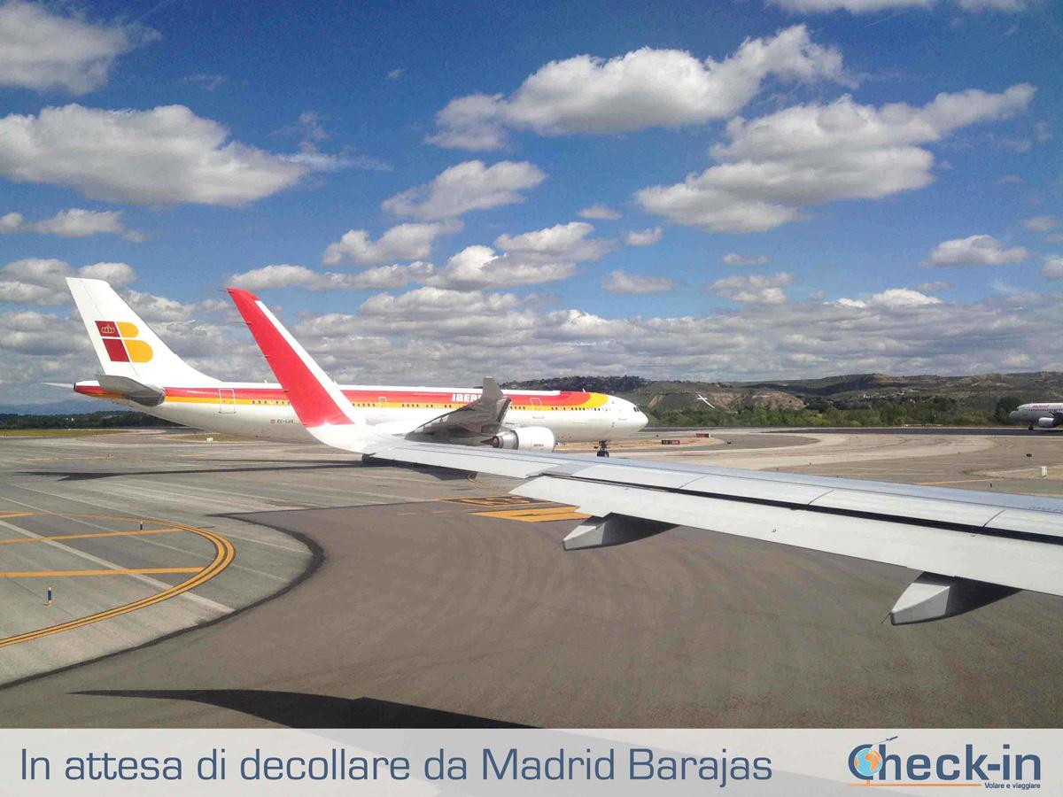 Da Madrid a Milano: pronti a decollare dall'aeroporto di Barajas