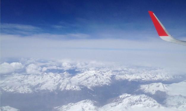 Galleria fotografica in volo con Iberia da Madrid Barajas a Milano Malpensa