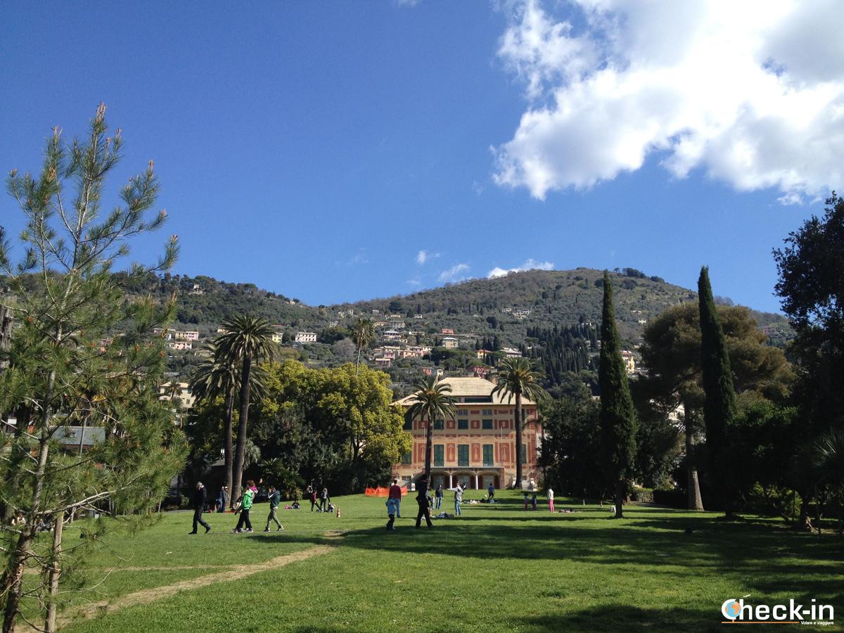 I Parchi di Genova Nervi: Villa Grimaldi