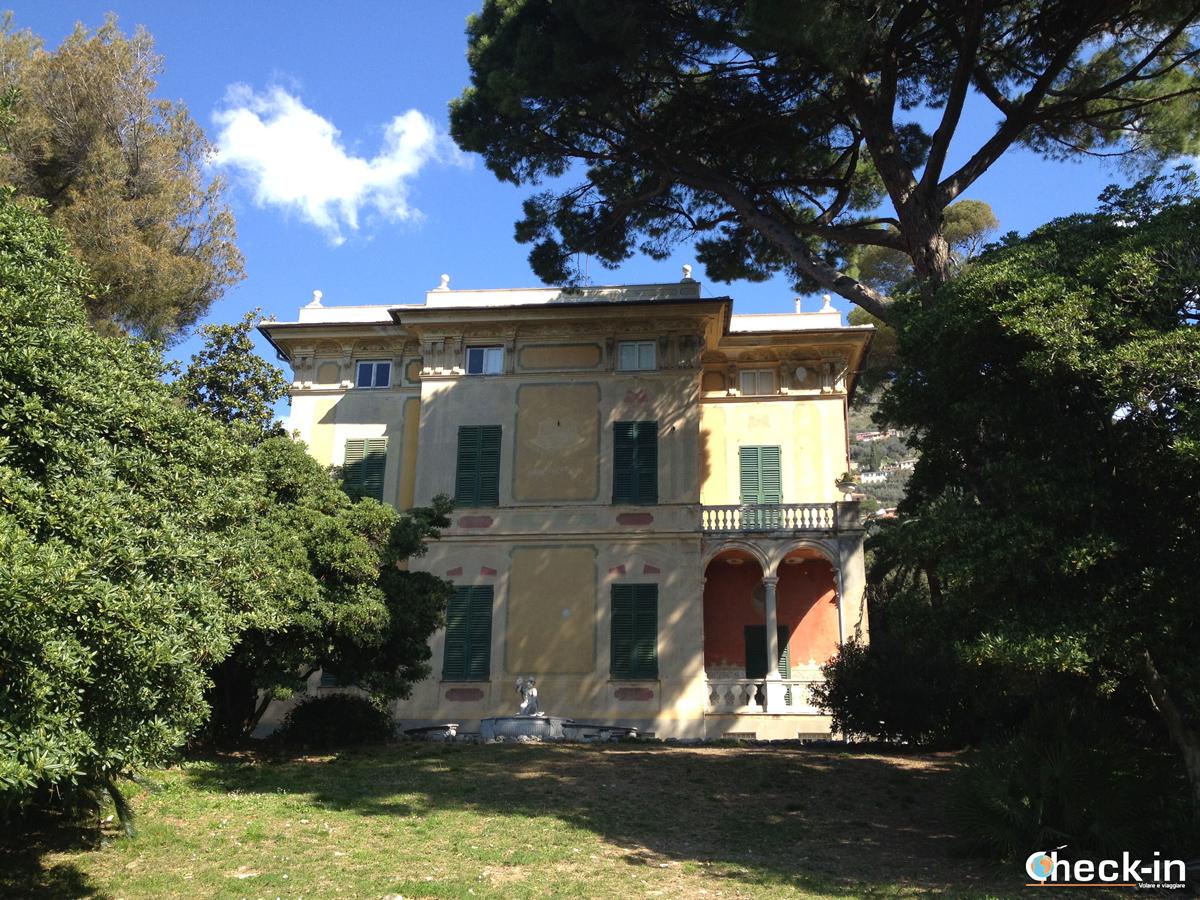Parchi di Genova Nervi, Villa Luxoro - Escursione in Liguria