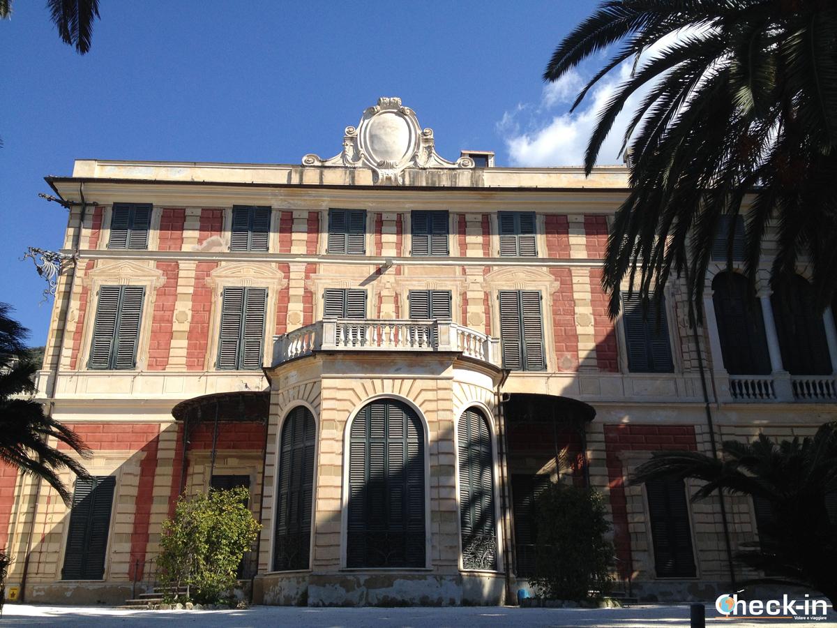 Villa Serra, Parchi di Genova Nervi