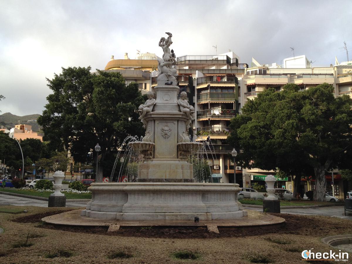Piazza Weyler a Santa Cruz de Tenerife (Isole Canarie)