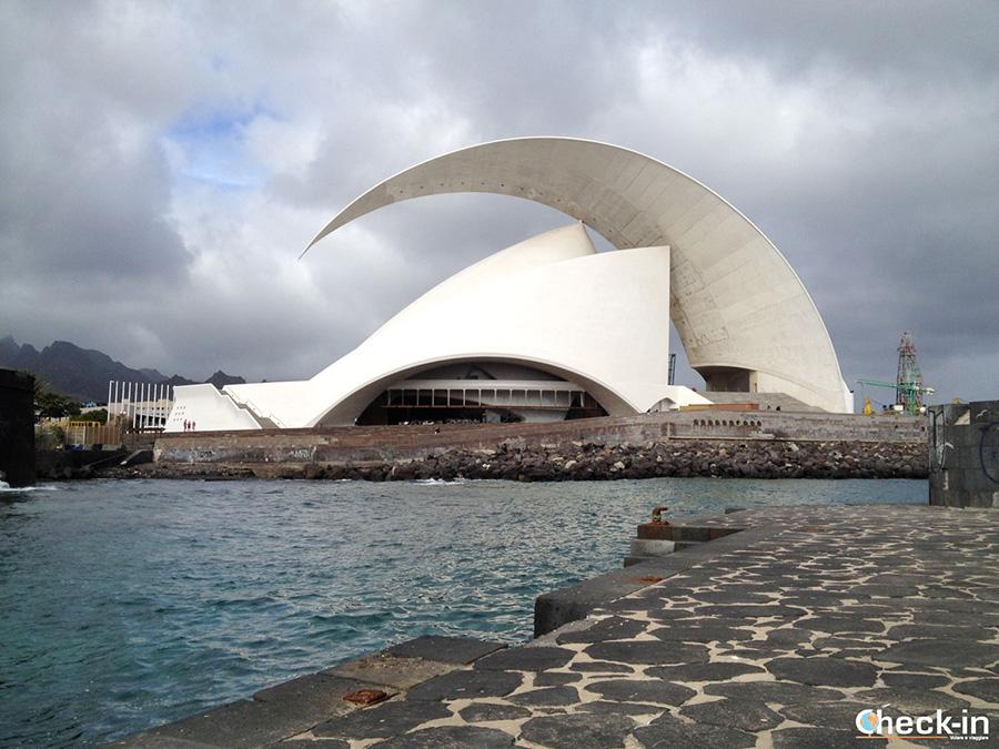 Luoghi simbolo di Santa Cruz de Tenerife: l'Auditorium di Calatrava
