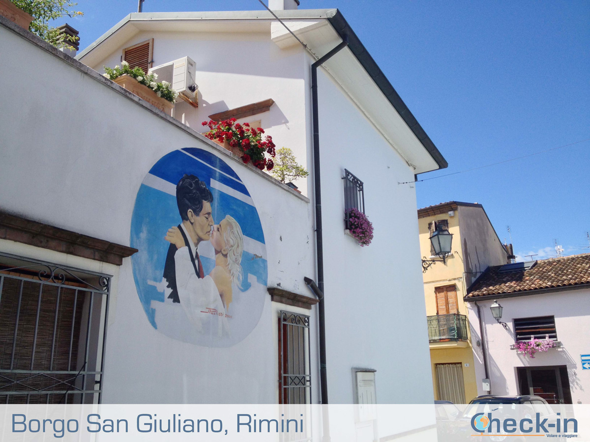 Borgo San Giuliano: murales sulla casa