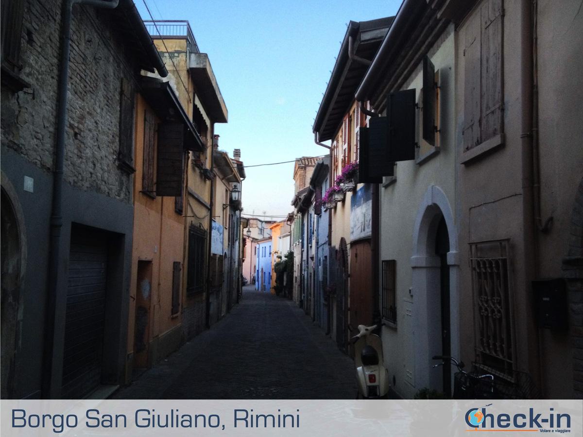 Borgo San Giuliano: via Marecchia